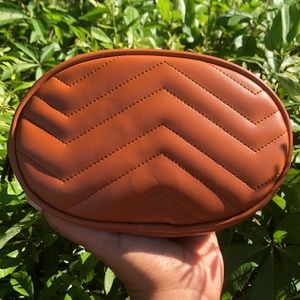New Cognac Color Waist Bag.